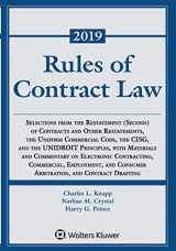 9781454894520-1454894520-Rules of Contract Law (Supplements)