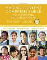Making Content Comprehensible for Elementary English Learners: The SIOP Model, with Enhanced Pearson eText -- Access Card Package (3rd Edition) (SIOP Series)