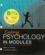 Loose-leaf Version for Exploring Psychology in Modules 10e & LaunchPad for Myers's Exploring Psychology in Modules 10e (Six-Month Access)