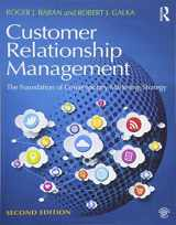 9781138919525-1138919527-Customer Relationship Management: The foundation of contemporary marketing strategy