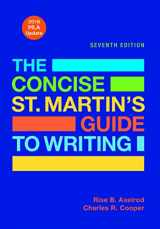 9781319088170-1319088171-The Concise St. Martin's Guide to Writing with 2016 MLA Update