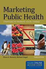 9781449683856-1449683851-Marketing Public Health: Strategies to Promote Social Change