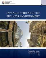 9781305972490-130597249X-Law and Ethics in the Business Environment