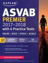 9781506203157-1506203159-ASVAB Premier 2017-2018 with 6 Practice Tests: Online + Book + Videos (Kaplan Test Prep)