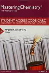 MasteringChemistry with Pearson eText -- Standalone Access Card -- for Organic Chemistry (9th Edition)