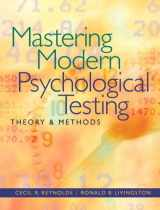 9780205483501-020548350X-Mastering Modern Psychological Testing: Theory & Methods