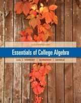 Essentials of College Algebra Plus NEW MyMathLab with Pearson eText --  Access Card Package (11th Edition) (Lial/Hornsby/Schneider/Daniels)