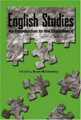 9780814115442-0814115446-English Studies: An Introduction to the Discipline(s) (Refiguring English Studies)