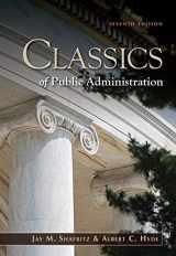 9781111342746-1111342741-Classics of Public Administration