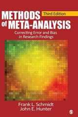 9781452286891-1452286892-Methods of Meta-Analysis: Correcting Error and Bias in Research Findings