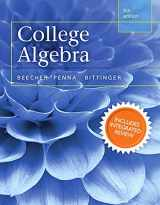 College Algebra with Integrated Review and Worksheets plus NEW MyMathLab with Pearson eText-- Access Card Package (5th Edition) (Integrated Review Courses in MyMathLab and MyStatLab)