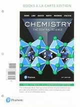 9780134557328-0134557328-Chemistry: The Central Science, Books a la Carte Plus MasteringChemistry with eText -- Access Card Package (14th Edition)