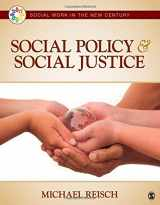 9781412998864-1412998867-Social Policy and Social Justice (Social Work in the New Century)