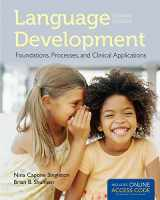 9781284022070-1284022072-Language Development: Foundations, Processes, And Clinical Applications