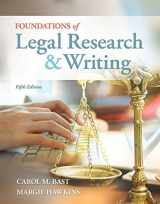 9781133278290-1133278299-Foundations of Legal Research and Writing