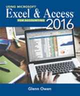 9781337109048-1337109045-Using Microsoft Excel and Access 2016 for Accounting