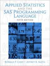 9780131465329-0131465325-Applied Statistics and the SAS Programming Language (5th Edition)
