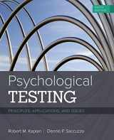 9781337098137-1337098132-Psychological Testing: Principles, Applications, and Issues
