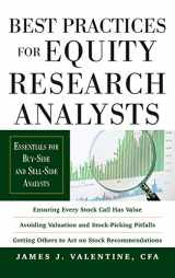 9780071736381-0071736387-Best Practices for Equity Research Analysts:  Essentials for Buy-Side and Sell-Side Analysts