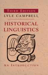9780262518499-026251849X-Historical Linguistics: An Introduction (The MIT Press)