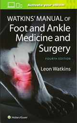 9781451186673-1451186673-Watkins' Manual of Foot and Ankle Medicine and Surgery