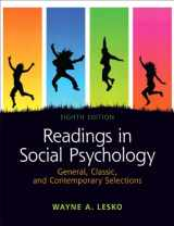 9780205179671-0205179673-Readings in Social Psychology: General, Classic, and Contemporary Selections (8th Edition)