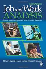 9781412937467-1412937469-Job and Work Analysis: Methods, Research, and Applications for Human Resource Management