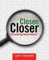 9780763735937-0763735930-Closer and Closer: Introducing Real Analysis