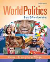 9781305504875-1305504879-World Politics: Trend and Transformation, 2016 - 2017