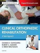 9780323393706-0323393705-Clinical Orthopaedic Rehabilitation: A Team Approach