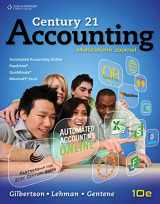 9780840064653-0840064659-Century 21 Accounting: Multicolumn Journal (Accounting I)