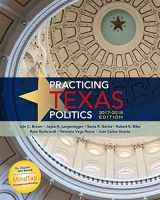 9781305952027-1305952022-Practicing Texas Politics, 2017-2018 Edition (Texas: It's a State of MindTap)