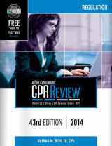 Bisk CPA Review: Regulation, 43rd Edition, 2014 (Comprehensive CPA Exam Review Regulation) (Bisk Comprehensive CPA Review) (Cpa Comprehensive Exam Review. Regulation)