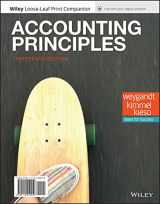 Accounting Principles, 13e WileyPLUS + Loose-leaf