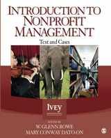 9781412999236-1412999235-Introduction to Nonprofit Management: Text and Cases (NULL)