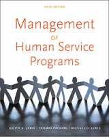 9780840034274-084003427X-Management of Human Service Programs (SW 393T 16- Social Work Leadership in Human Services Organizations)
