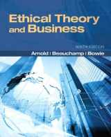9780205169085-0205169082-Ethical Theory and Business (9th Edition) (MyThinkingLab Series)