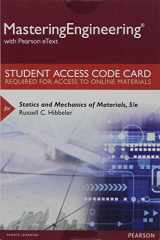 9780134395104-0134395107-Mastering Engineering with Pearson eText -- Standalone Access Card -- for Statics and Mechanics of Materials