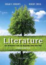 Literature: An Introduction to Reading and Writing, Compact Edition Plus 2014 MyLiteratureLab -- Access Card Package (6th Edition)