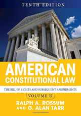 9780813349978-0813349974-American Constitutional Law, Volume II: The Bill of Rights and Subsequent Amendments