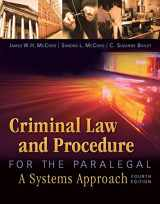 9781435440166-1435440161-Criminal Law and Procedure for the Paralegal