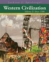 9781133607939-1133607934-Western Civilization: A Brief History, Volume II: Since 1500