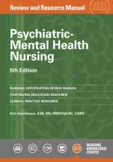 9781935213642-1935213644-Psychiatric-Mental Health Nursing Review and Resource Manual, 5th Edition