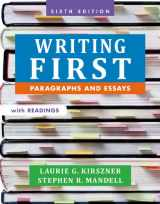 9781457667831-1457667835-Writing First with Readings: Paragraphs and Essays