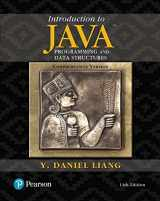9780134694511-0134694511-Introduction to Java Programming and Data Structures, Comprehensive Version Plus MyLab Programming with Pearson eText -- Access Card Package (11th Edition)