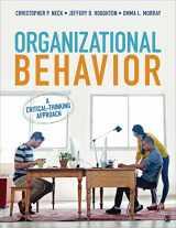 9781506314402-1506314406-Organizational Behavior: A Critical-Thinking Approach