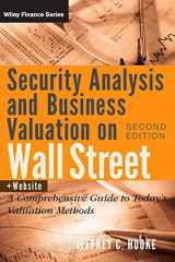 9780470277348-0470277343-Security Analysis and Business Valuation on Wall Street, + Companion Web Site: A Comprehensive Guide to Today's Valuation Methods