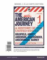 9780134102924-0134102924-American Journey, The, Volume 1, Books a la Carte Edition (8th Edition)