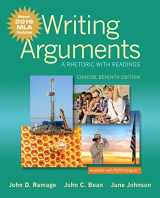9780134586496-0134586492-Writing Arguments: A Rhetoric with Readings, Concise Edition, MLA Update Edition (7th Edition)