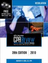 Bisk CPA Review: Regulation - 39th Edition 2010 (Comprehensive CPA Exam Review Regulation) (Cpa Comprehensive Exam Review. Regulation)